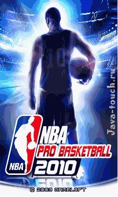 НБА Баскетбол Про 2010 touch