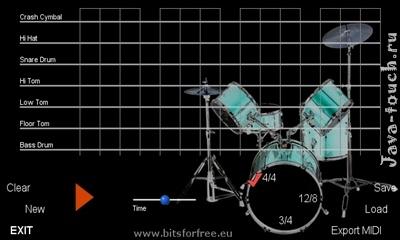 Драм-машина тач - Xpress Drums touch