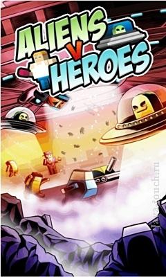 Aliens vs Heroes