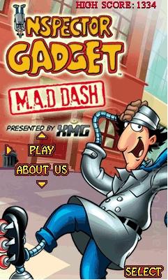 Inspector Gadget : M.A.D Dash