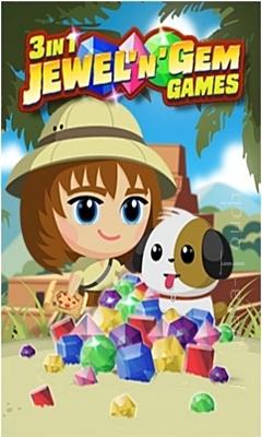 3 in 1 Jewel N Gem Games