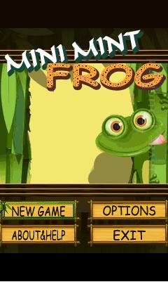 Mini Mint Frog