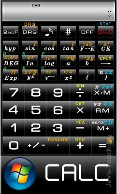 Инженерный калькулятор (240x400)