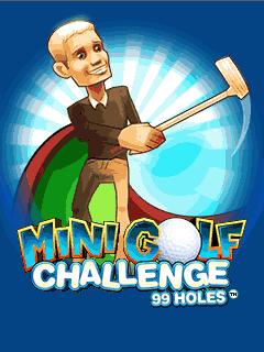 Java игра Minigolf 99 Challenge