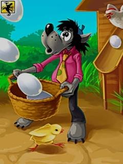 Java игра Ну, Погоди ( Волк и Яйца)