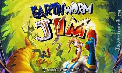 Earthworm Jim touch Landscape