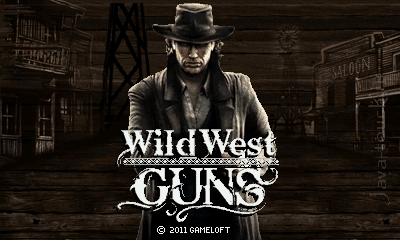 Java игра Wild West Guns. Landscape