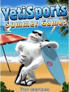 Java игра YetiSports Summer Games. 4 in 1
