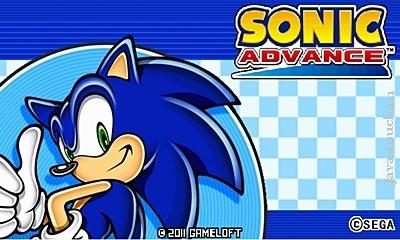 Java игра Sonic Advance