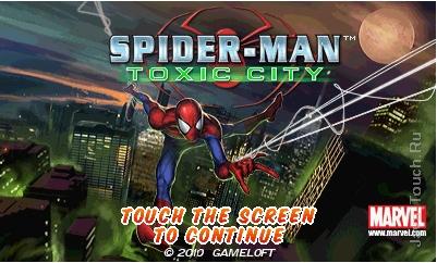 Java игра Spider-Man: Toxic City